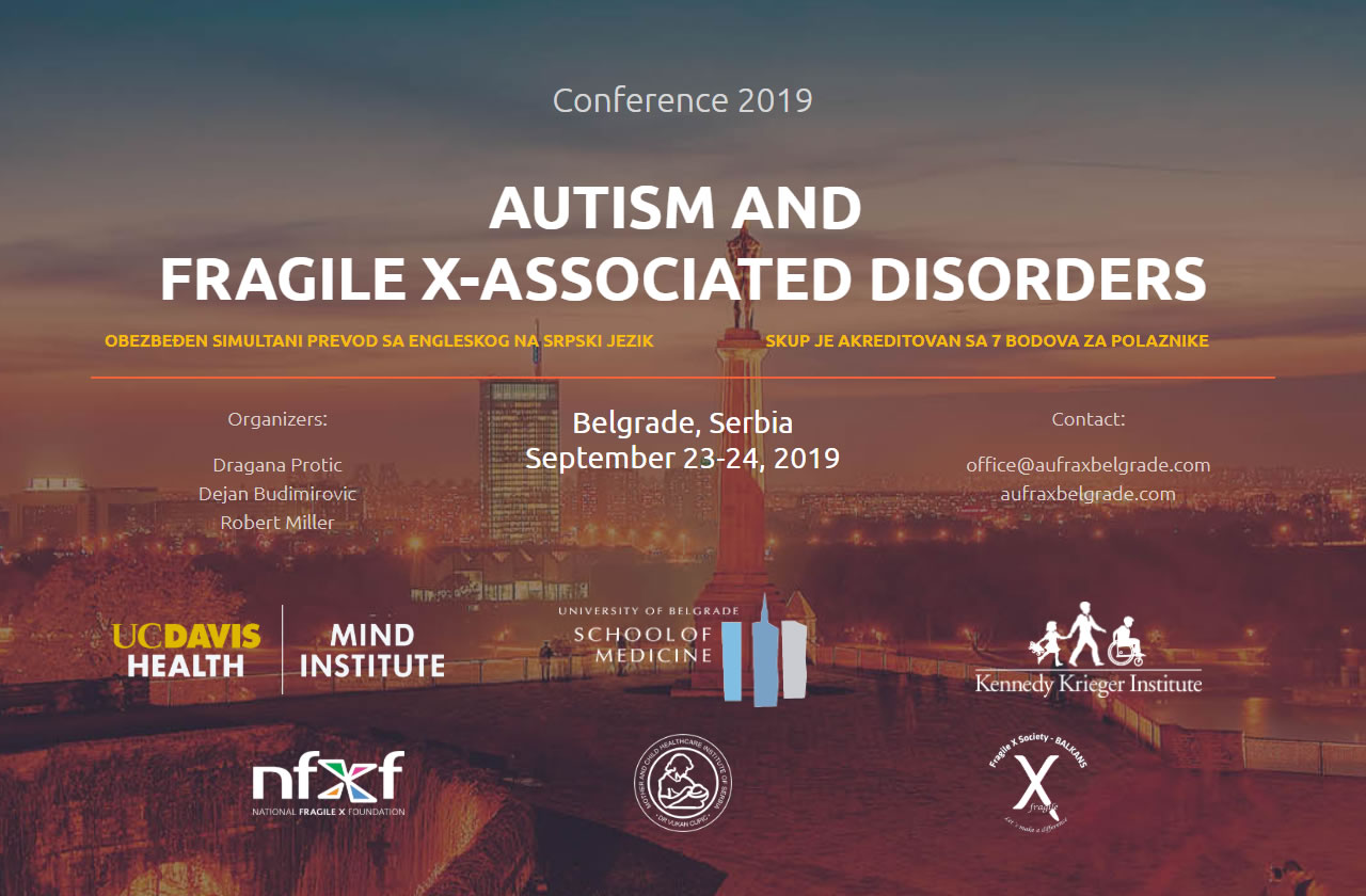 "Conference ""Autism and Fragile X–Associated Disorders"""